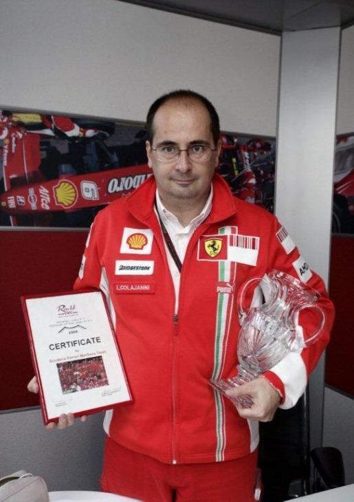 Luca Colajanni  team Scuderia Ferrari