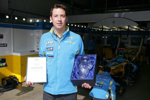 Mr.Gavin Hudson, Renault F1 Team